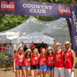 Cenex at country music festival