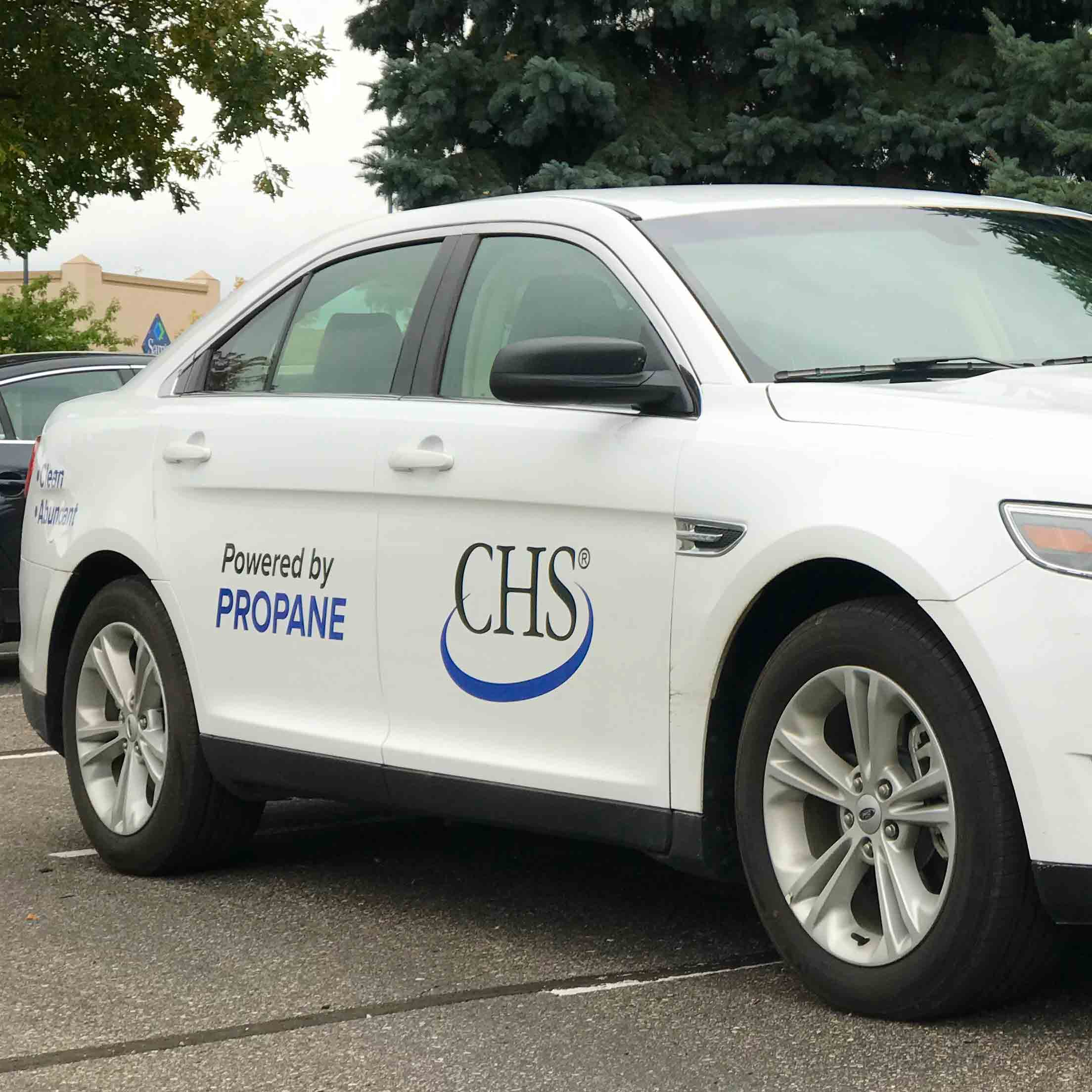 CHS propane-powered car