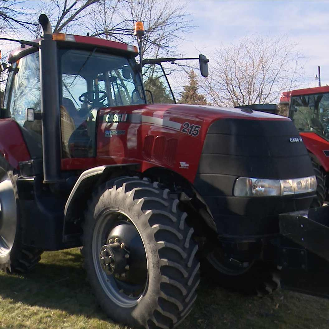Case IH tractor