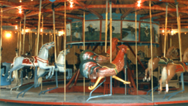 Antique Carousel in Story City, IA