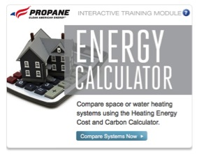 The calculator allows users to compare the costs of different types of energy  side-by-side along with a look at carbon emissions of various heating fuels.