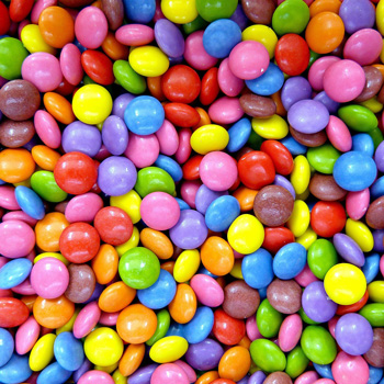 Smarties candy