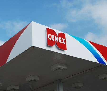 Cenex gas station