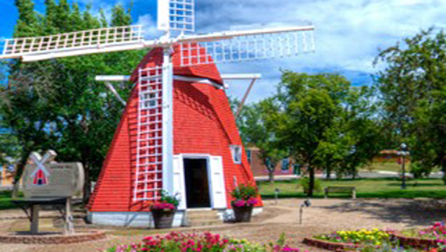Authentic Danish Windmill in Kenmare, ND