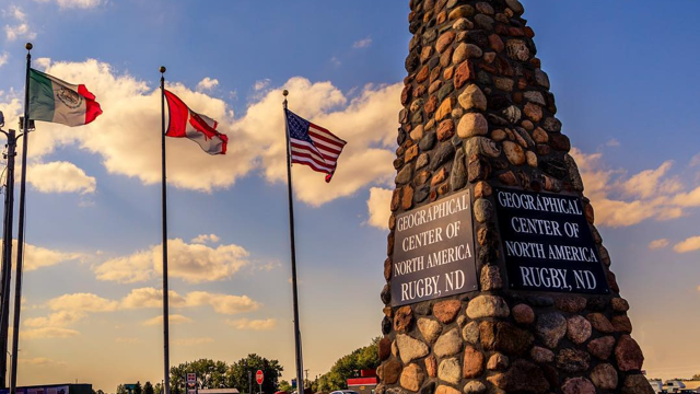 The Geographic Center of North America in Rugby, ND